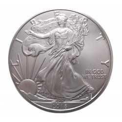 U.S.A. 1 DOLLÁR 1 uncia 2016  (AG 0,999)