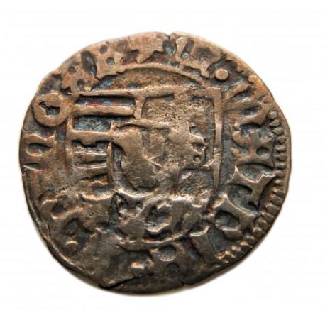 I. (Hunyadi) Mátyás dénár Éh.565b  K-P