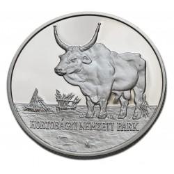 2002.  Hortobágyi Nemzeti Park ezüst emlékérme PP