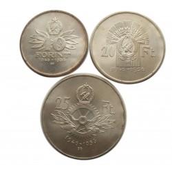 10 éves a Forint 1956 : 10,20,25 Forint